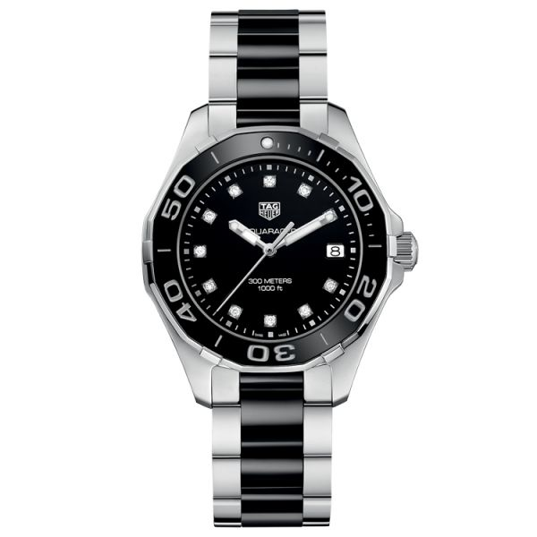 TAG Heuer Aquaracer Lady Steel & Ceramic - 35 mm