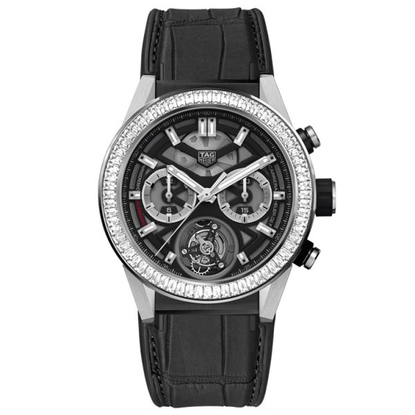 TAG Heuer Calibre Heuer 02 Tourbillon Automatic Chronograph