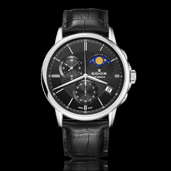 Edox LES BÉMONTS Chronograph Mondphase