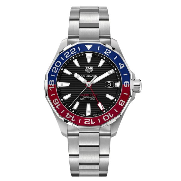 TAG Heuer Calibre 7 Twin-Time Automatic - 43 mm