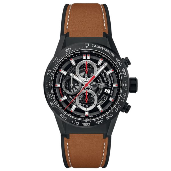 TAG Heuer Calibre Heuer 01 Automatic Chronograph - 43mm