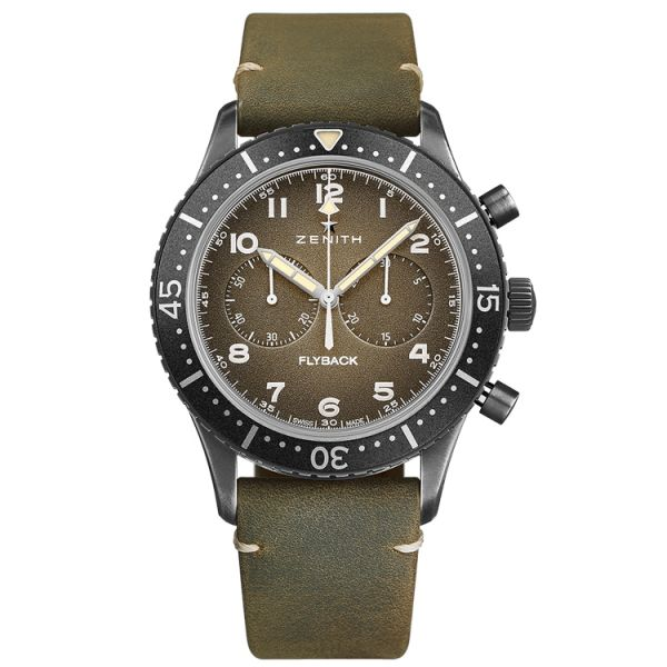 Zenith Pilot Cronometro 2 Tipo CP-2 Flyback