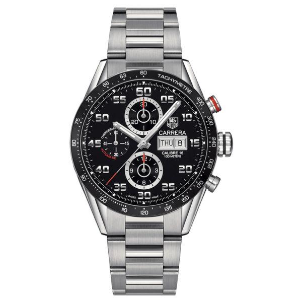 TAG Heuer Calibre 16 Day-Date Automatic Chronograph - 43 mm