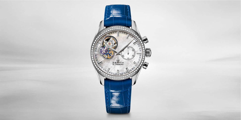 Zenith-El-Primero-Chronomaster-Lady-blue